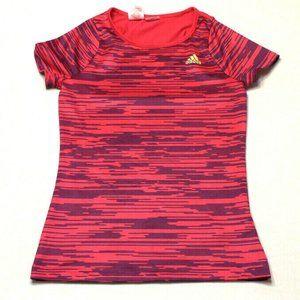Adidas womens Short Sleeve Athletic Shirt Top XS
